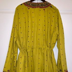 Free People Intimates & Sleepwear - Free People Cadence Embroidered Duster, L